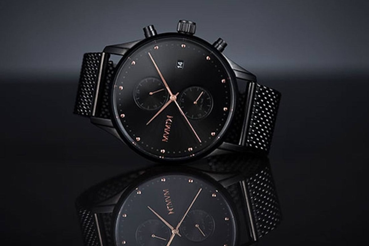 MVMT Watches Black Rose Edition