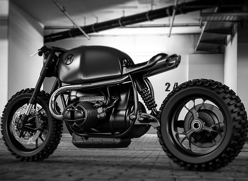 Ziggy Moto's Custom BMW R90