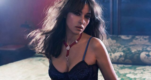 Monica Bellucci photoshoot