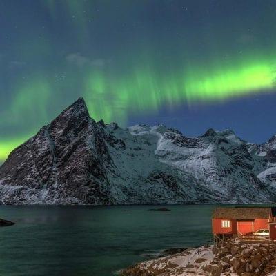 Hamnøy Lofoten Aurora
