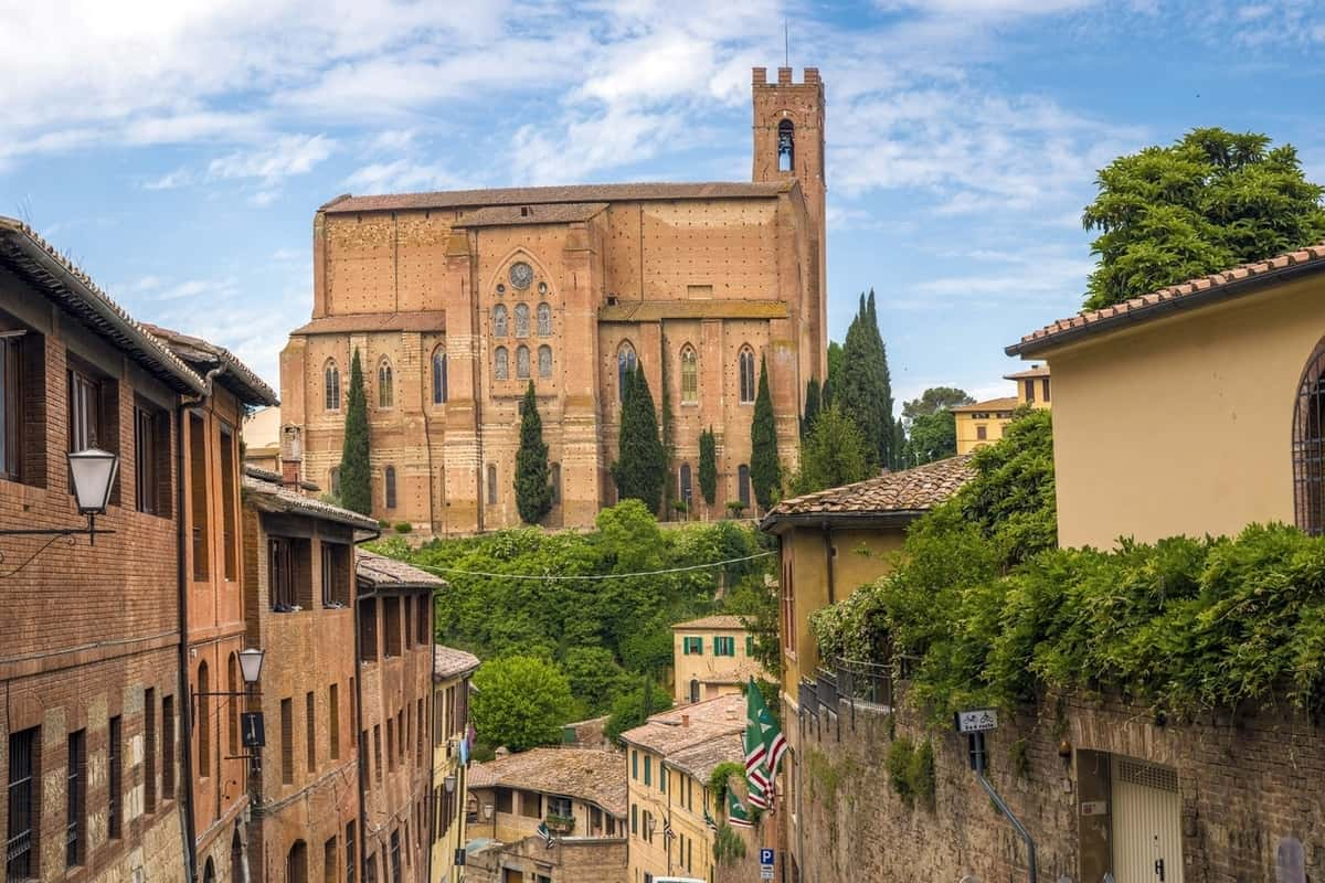 Siena in Romantic Tuscany, Italy