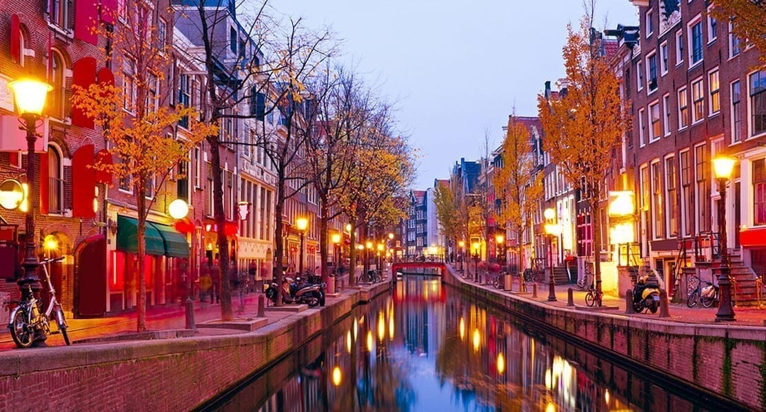 redlight district in amsterdam