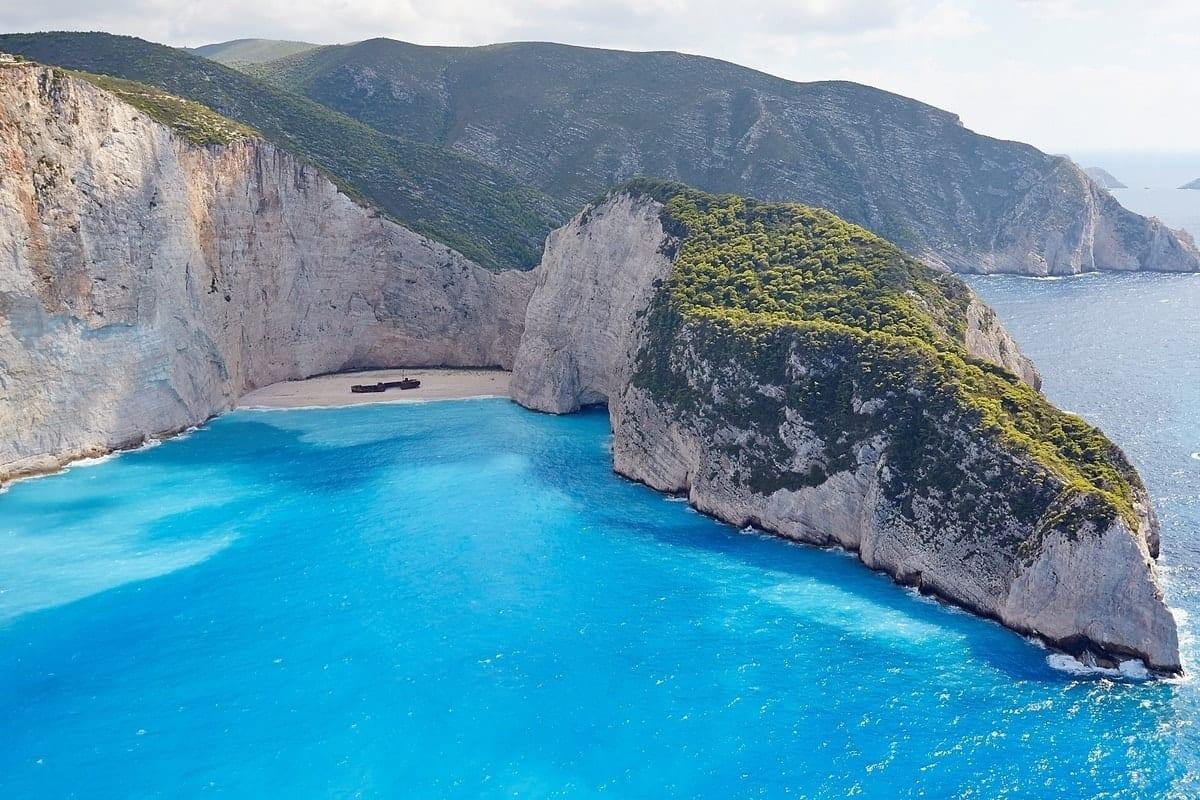Shipwreck On Zakynthos Island