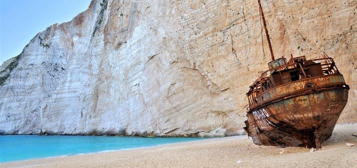 The Mystery Of Shipwreck On Zakynthos Island