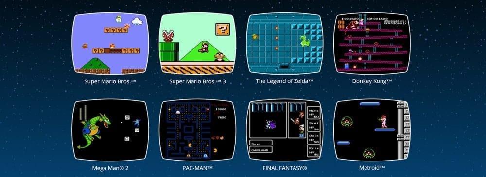 Nintendo NES Classic Edition - Games