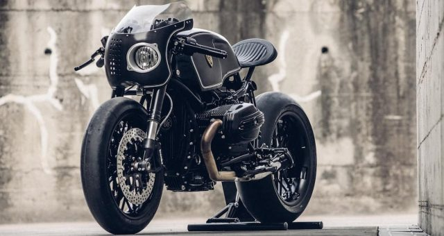 Bavarian Fistfighter Custom BMW R nineT