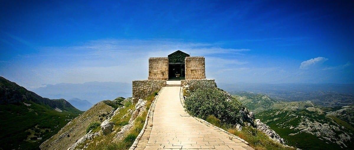 Njegos mausoleum in Kotor Montenegro