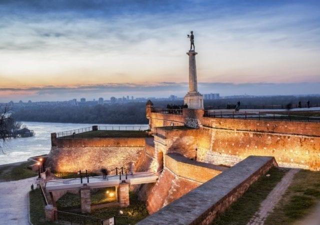 Symbol of Belgrade - Pobednik