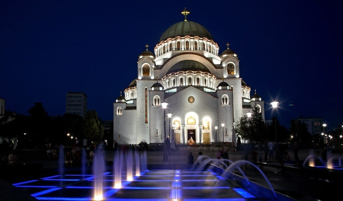 The Church of Saint Sava