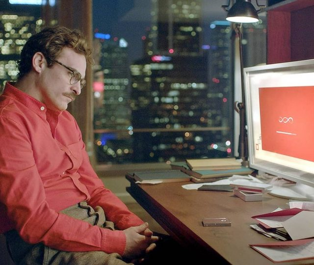 Pantone Color of 2019, Scene from the movie Her