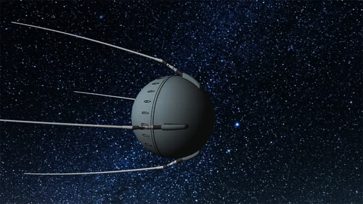 Sputnik 1, first artificial Earth satellite
