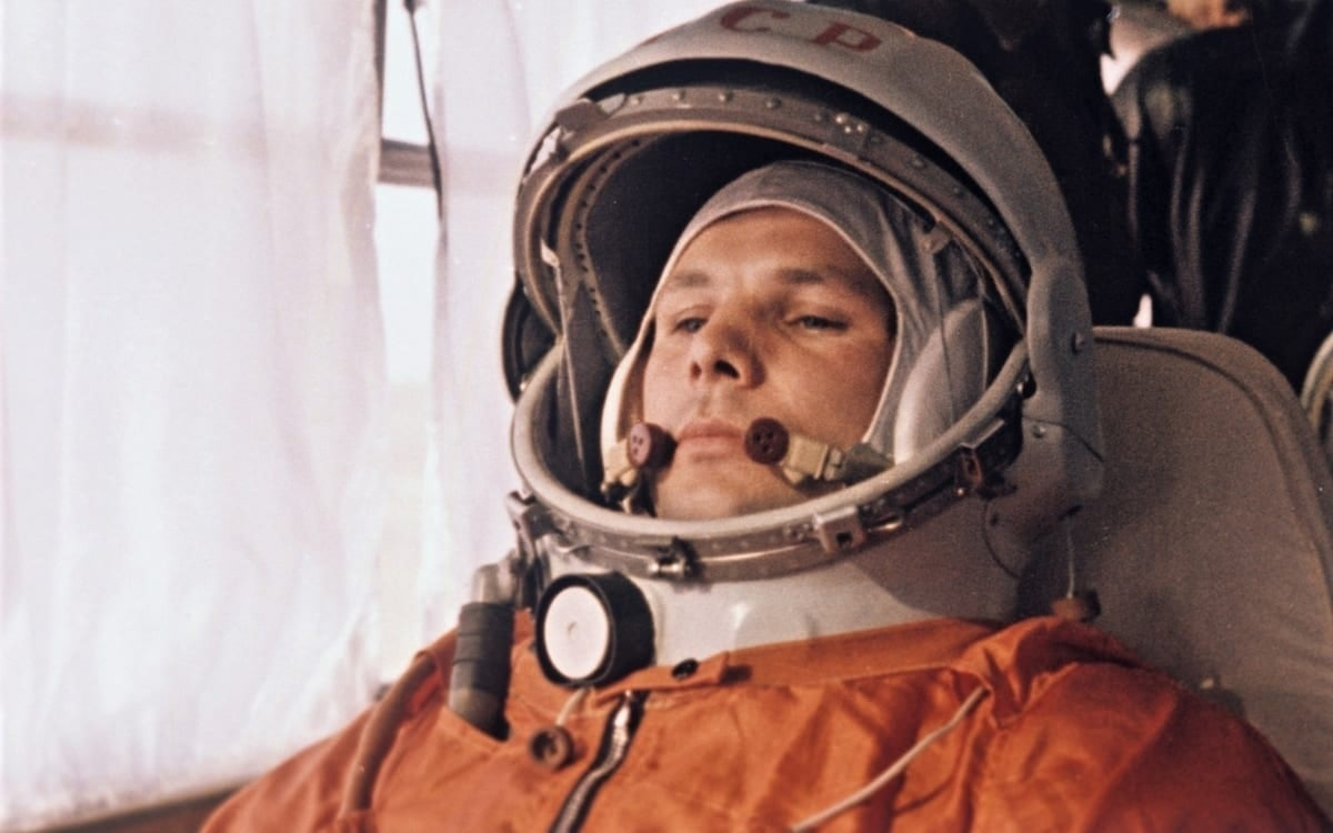 Yuri Gagarin, first man in Space