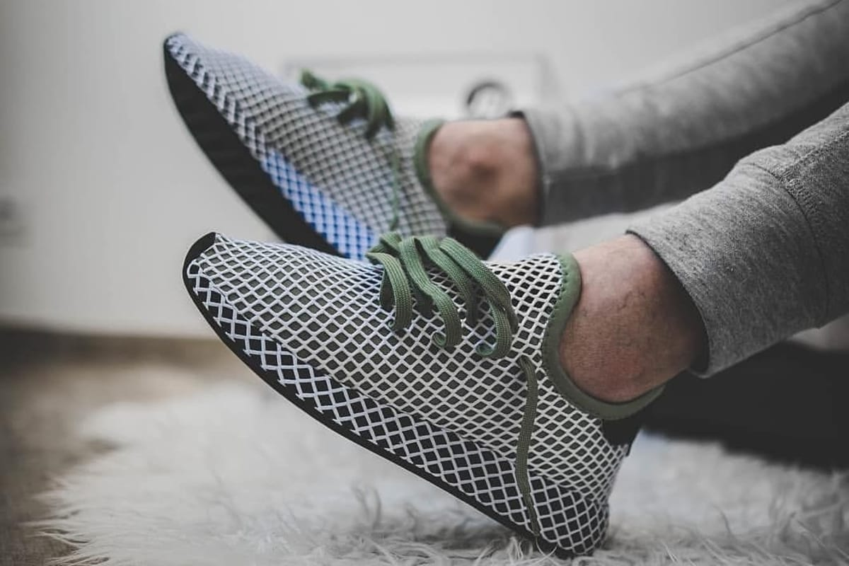 Tren historia vulgar  Adidas Deerupt, Sneakers That Look Good on Instagram • The MAN