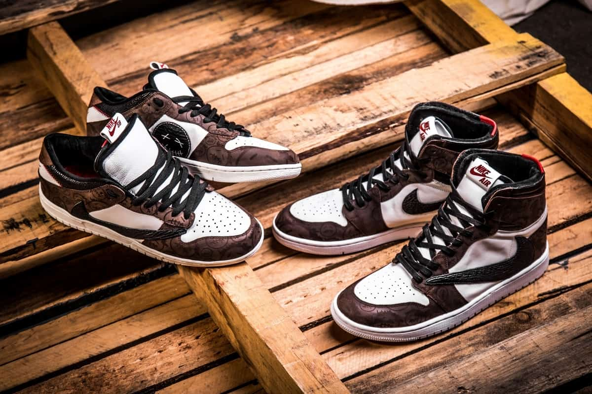 Travis Scott x Nike Air Jordan 1 cover, Most popular sneakers of 2019