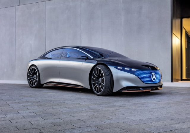 2019 mercedes benz vision eqs