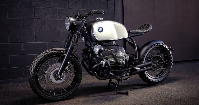 1992 BMW R100R by Ellaspede
