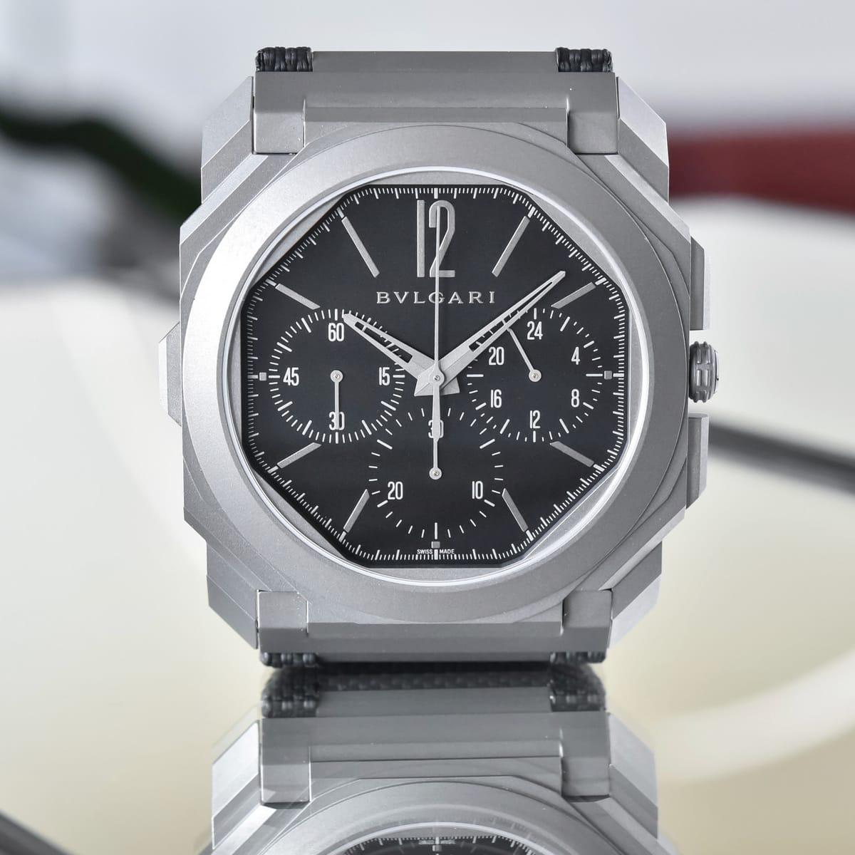 Bulgari Octo Finissimo Chronograph GMT Titanium