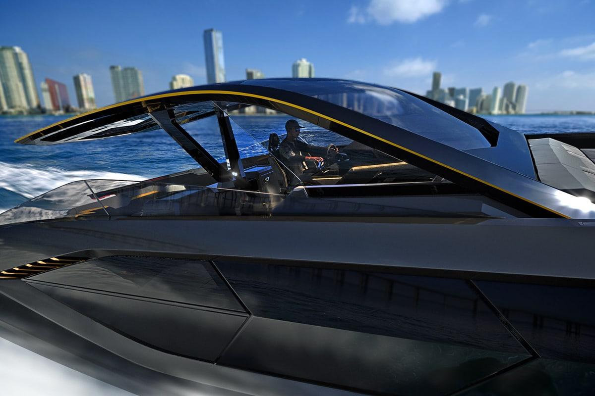 Lamborghini 63 Yacht by Tecnomar