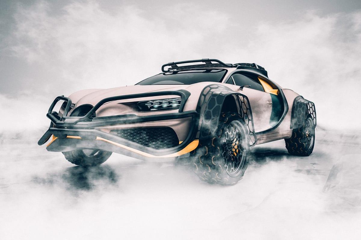 Bugatti Chiron Terracross SUV
