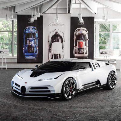 Bugatti Centodieci frontal view