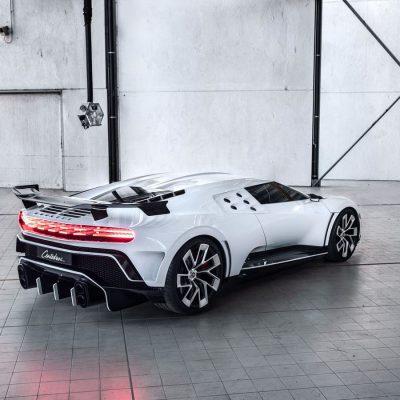 Bugatti Centodieci rear view
