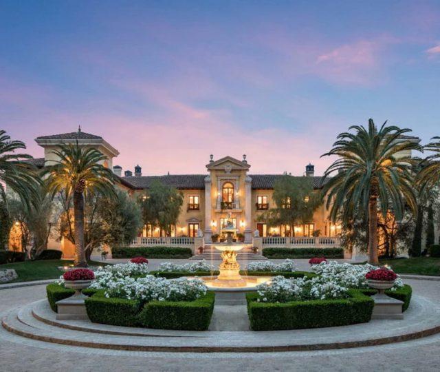Villa Firenze in Beverly Park