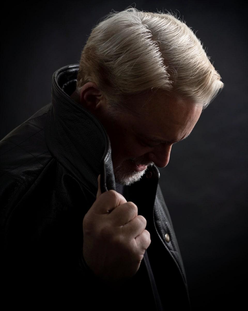 Larry Studnicky of The High Plains Drifters portrait