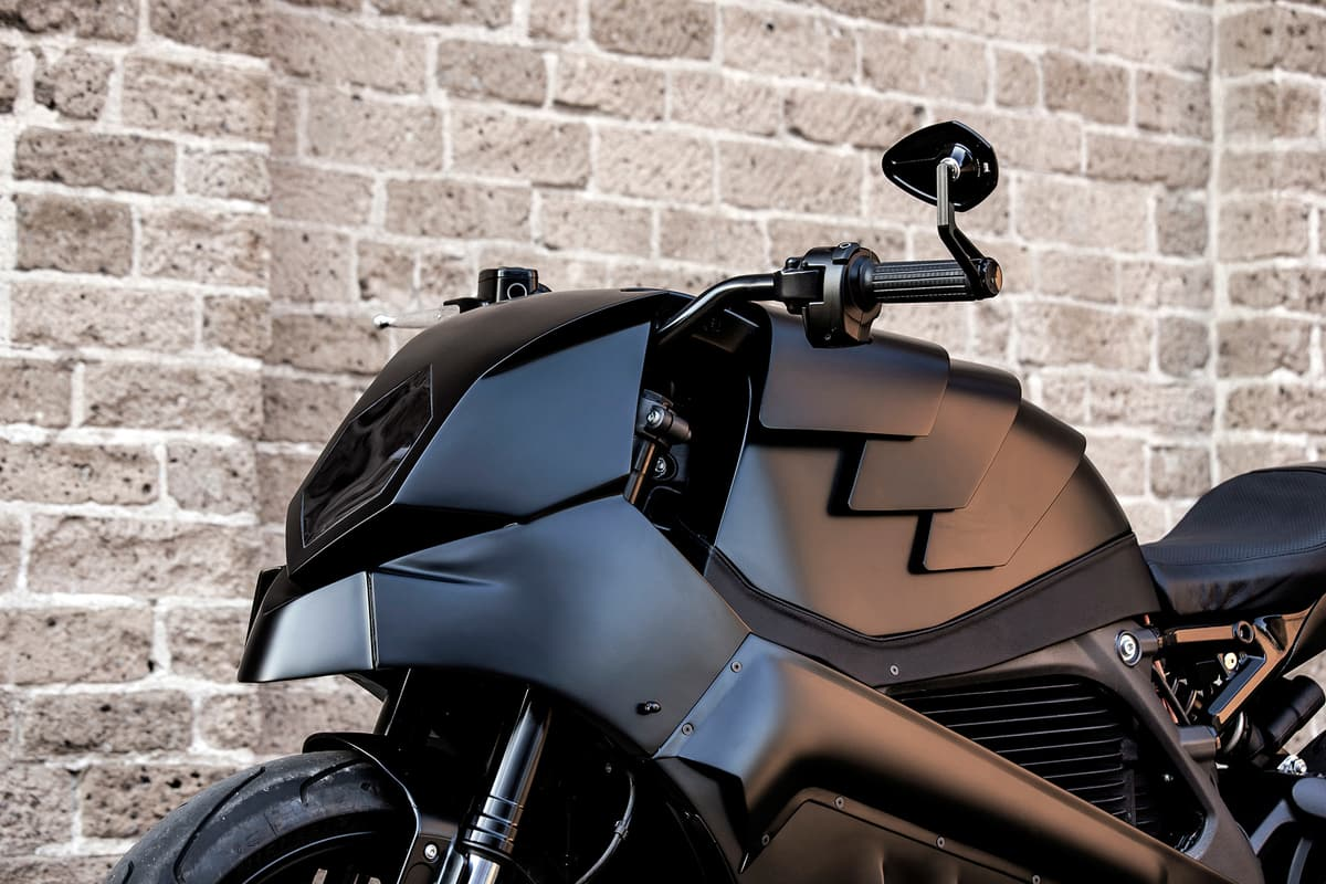 The Rule Breaker – Moto Adonis' Custom LiveWire