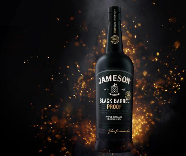 New Jameson Black Barrel Proof